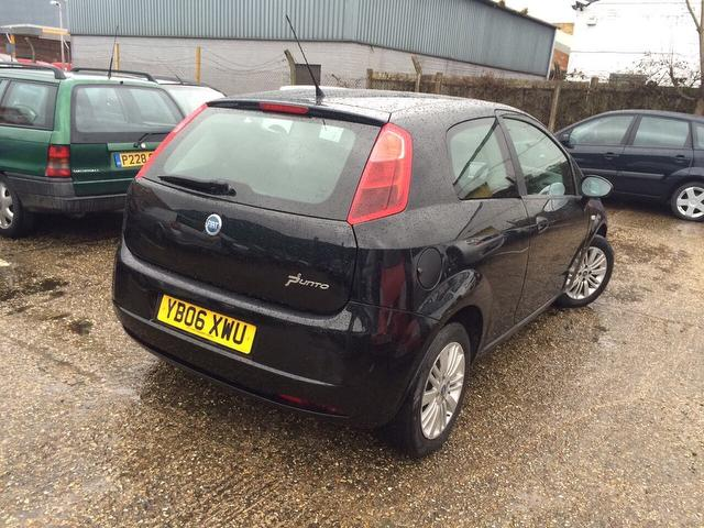 Fiat Grande Punto 1 2 Dynamic 3dr Timing Belt Changed Camberley Cars