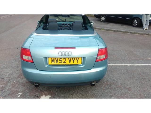 Audi A4 Cabriolet 2 4 Sport 2dr Cambelt Changed One Owner Camberley Cars