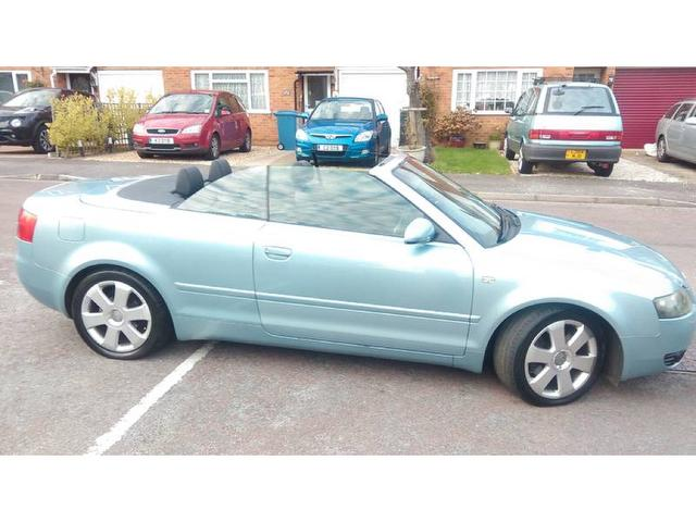 Audi A4 Cabriolet 2 4 Sport 2dr Cambelt Changed One Owner